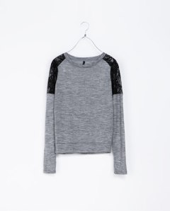 sweat zara